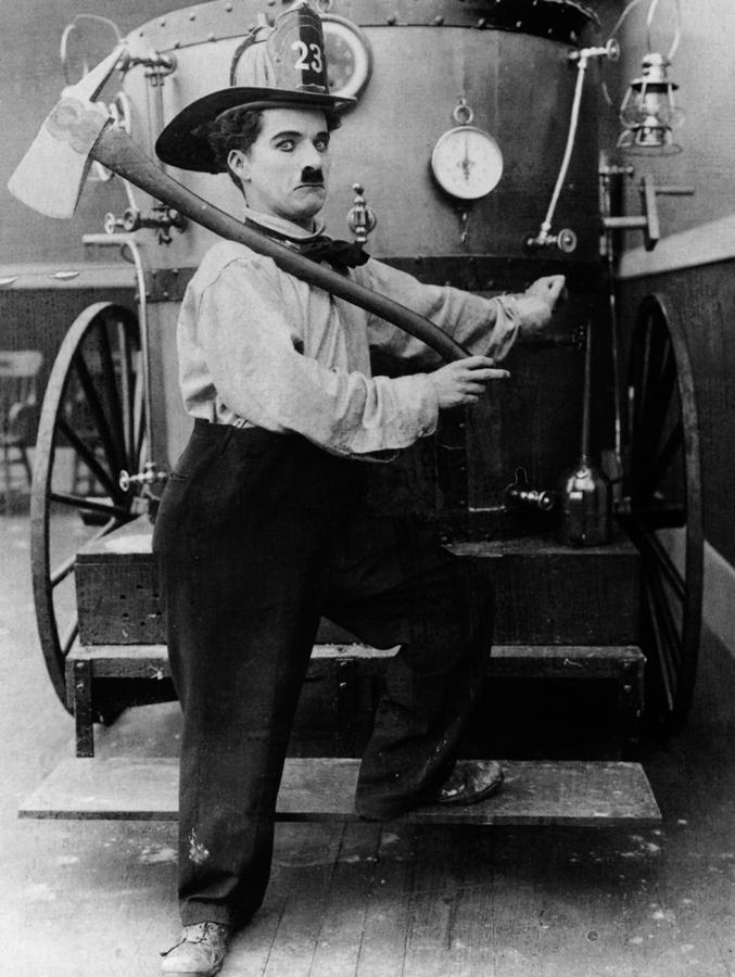 Chaplin The Fireman